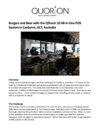 CS Burgers And Beer In Canberra EN